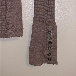 Moda International Tops - Ribbed Long Sleeve Tee